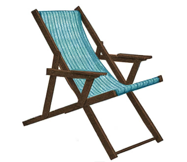 Sling Beach Chair Plans