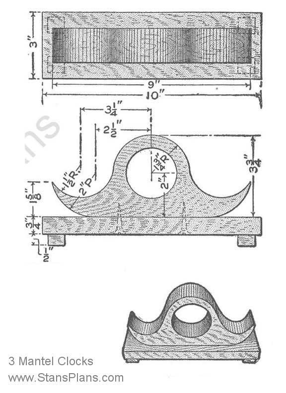 mantle clock plans