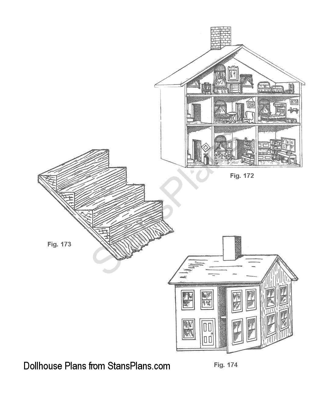 Dollhouse Blueprints