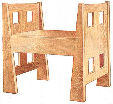 Hall Bench Plans