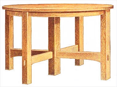 Myplan Woodworking Plans Extension Dining Table
