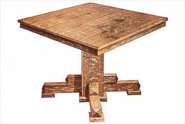 Dining Table Plans All Free Plans at Stans Plans