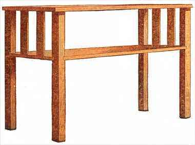 Woodwork Sofa Table Plans Pdf Plans