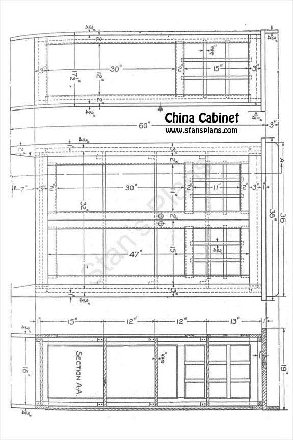 Pdf plans china cabinet plans woodworking download diy for Cheap blueprints